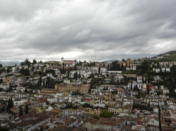 Albaicin a Granada
