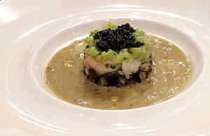 Follia di pesce, il piatto cucinato da Andrea Marconetti a Masterchef