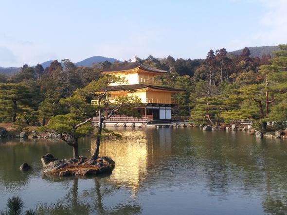 Il padiglione d'oro (Kinkaku-ji), a Kyoto