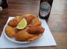 Panelle e crocchette: aperitivo a Ballarò