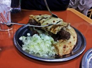 Un piatto di Cevapi