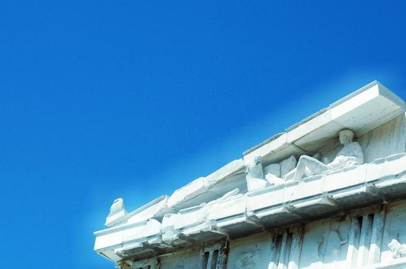 Un angolo di Partenone