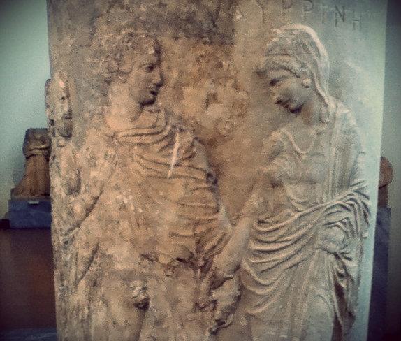Un vaso del museo archeologico nazionale