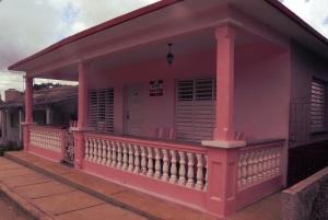 Una tipica casa di Viñales