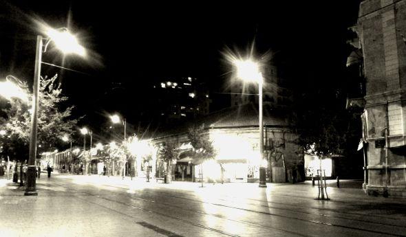 Gerusalemme alle sette di sera. Di venerdì