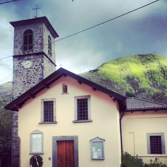 La chiesa di Pianaccio