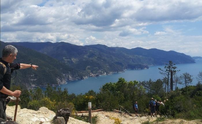 Il sentiero fra Levanto e Monterosso