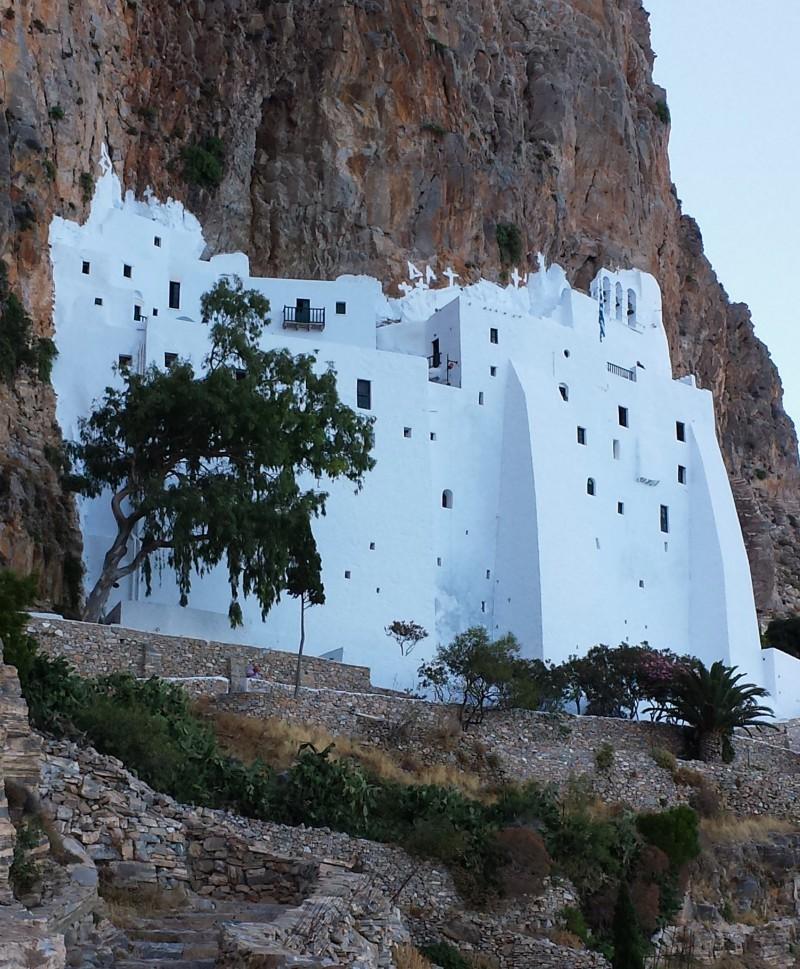 Amorgos, il monastero della Panagia Hoziovotissa