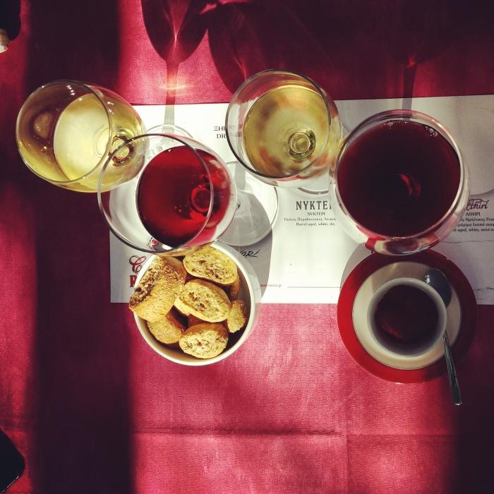 Degustazione alla cantina Roussos