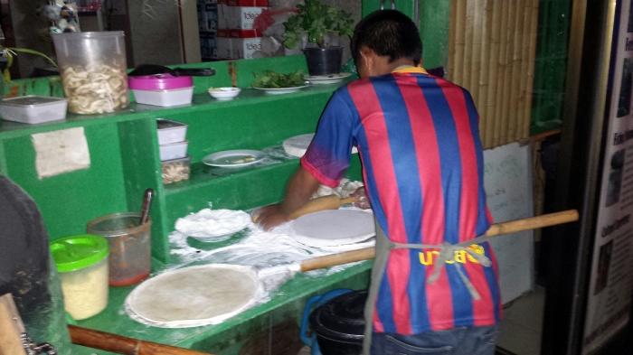 Pizzaiolo laotiano