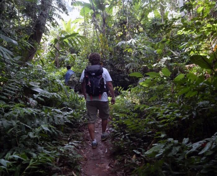 Il trekking nell'area protetta di Nam Ha