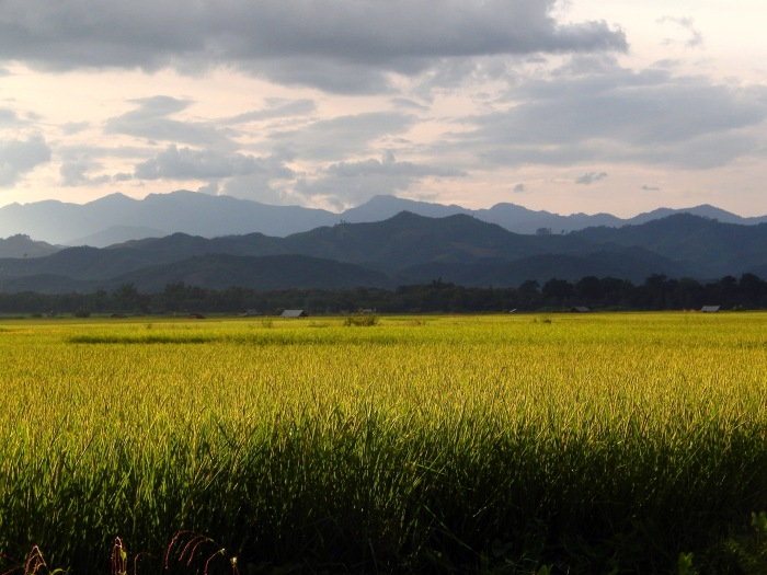 Il tramonto a Luang Namtha