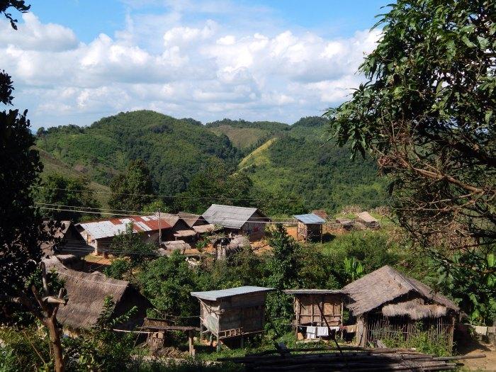 Un villaggio hmong