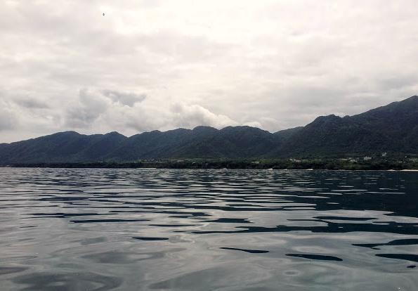 Dalla barca del diving