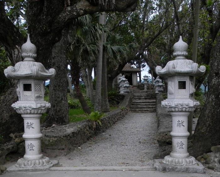 Un tempio a Kabyra bay