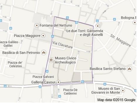 La mappa del Quadrilatero