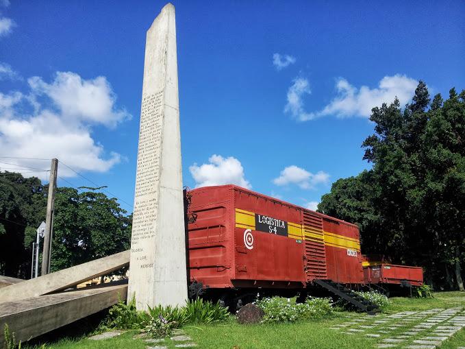 Cuba, il treno blindado a Santa Clara