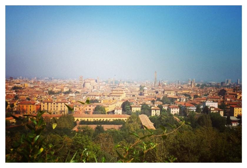 Bologna vista dai colli