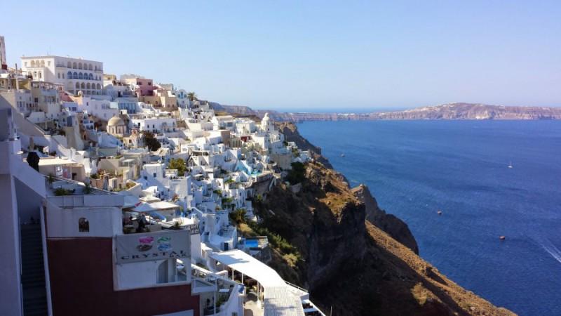 Isole della Grecia: Firà (Santorini) sulla caldera