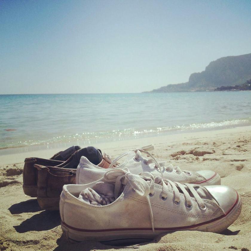 Spiaggia di Mondello, Sicilia